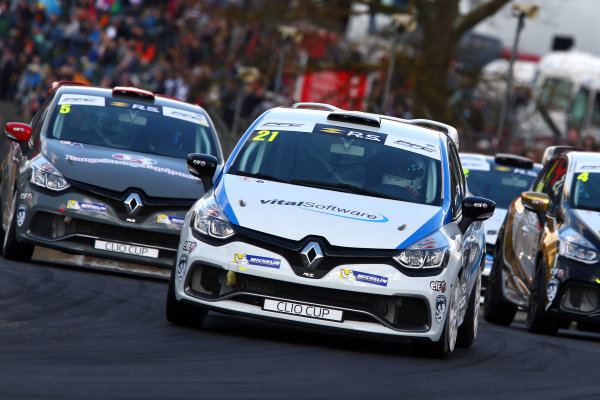 2017 Renault Clio Cup Brands Hatch, 1st-2nd April 2017 Mike Bushell (GBR)  World Copyright. JEP/LAT Images