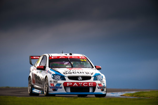 2017 Supercars Championship Round 3.  Phillip Island 500, Phillip Island, Victoria, Australia. Friday 21st April to Sunday 23rd April 2017. James Moffat drives the #34 Wilson Security Racing GRM Holden Commodore VF. World Copyright: Daniel Kalisz/LAT Images Ref: Digital Image 210417_VASCR3_DKIMG_1725.JPG