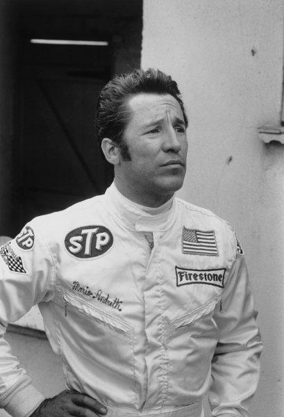 Brands Hatch, England. 16th - 18th July 1970.Mario Andretti (March 701-Ford), retired, portrait.World Copyright: LAT Photographic.Ref: 1313A - 13-13A.