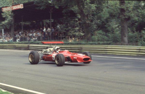 1968 Italian Grand Prix.Monza, Italy.6-8 September 1968.Chris Amon (Ferrari 312).Ref-68 ITA 64.World Copyright - LAT Photographic