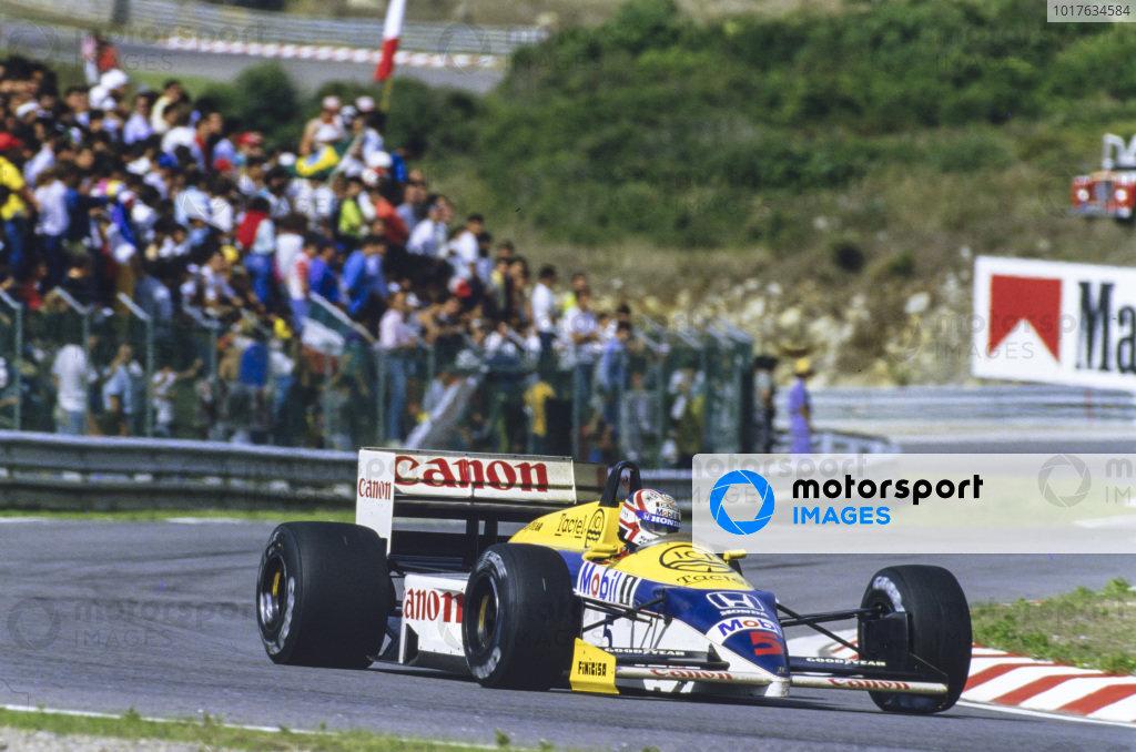 Nigel Mansell, Williams FW11 Honda.