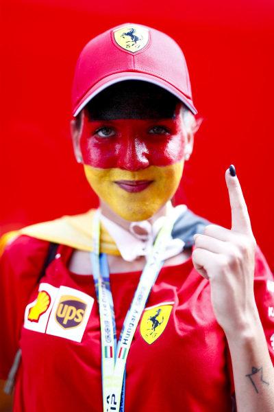 Fan Sebastian Vettel, Ferrari