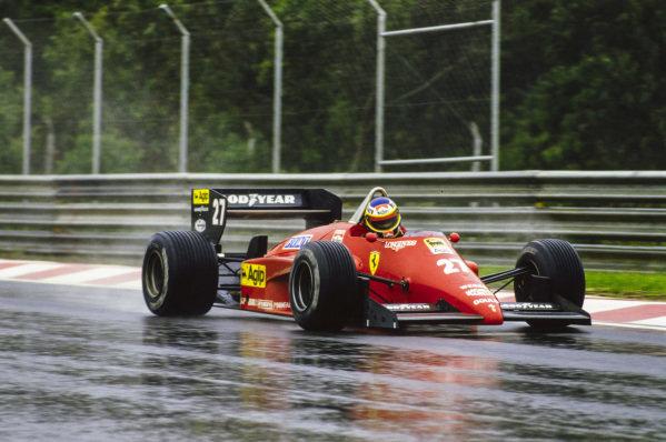 Michele Alboreto, Ferrari 156/85.