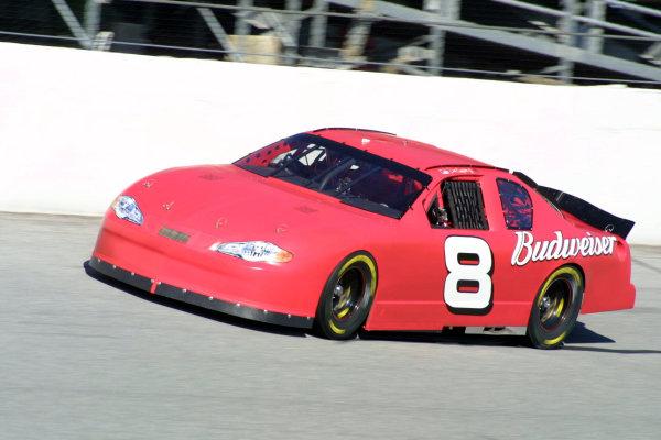 2002 NASCAR Cup TestingDaytona, Florida, USA. 8th January 2002.Dale Earnhardt Jnr, Chevrolet, action.World Copyright: Greg Aleck/LAT Photographicref: Digital Image Only