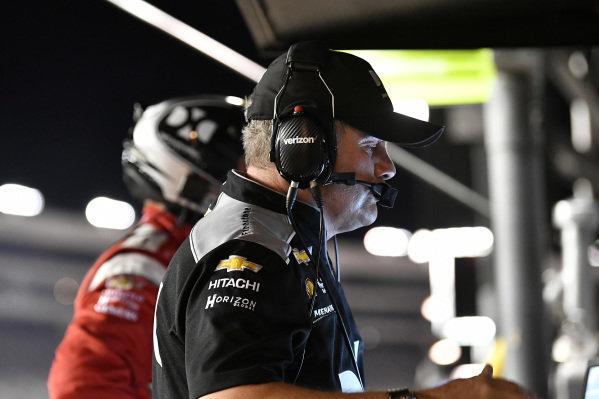Simon Pagenaud, Team Penske Chevrolet Kyle Moyer