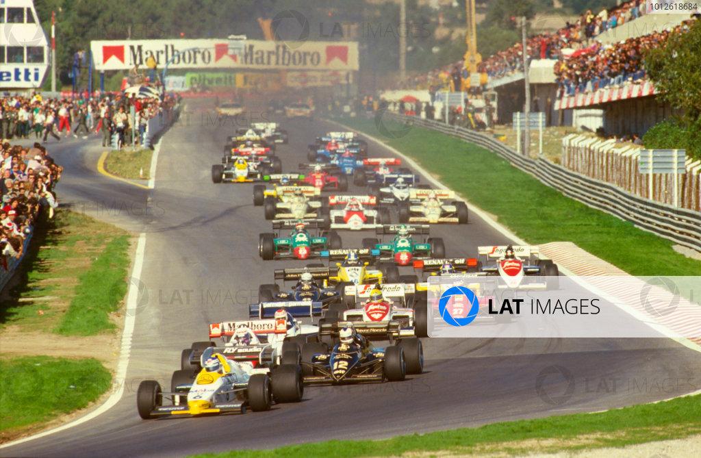 1984 Portuguese Grand Prix.