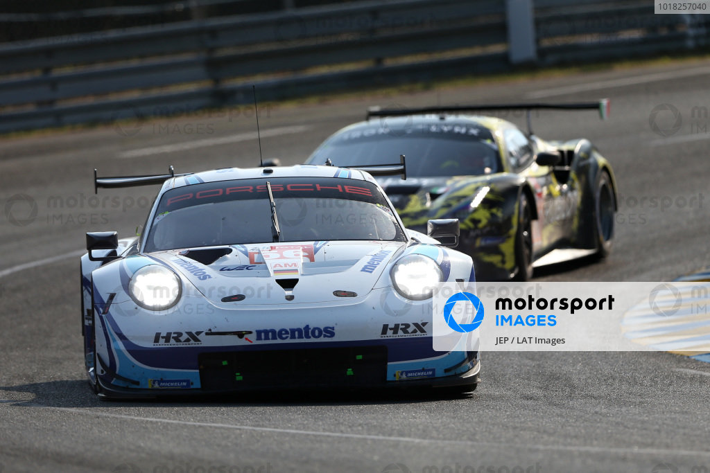 #56 Team Project 1 Porsche 911 RSR: Egidio Perfetti / Larry Ten Voorde / Matteo Cairoli