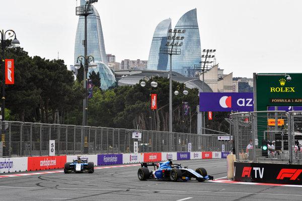 Guanyu Zhou (CHN, Uni-Virtuosi Racing) AND Lirim Zendeli (DEU, MP Motorsport)