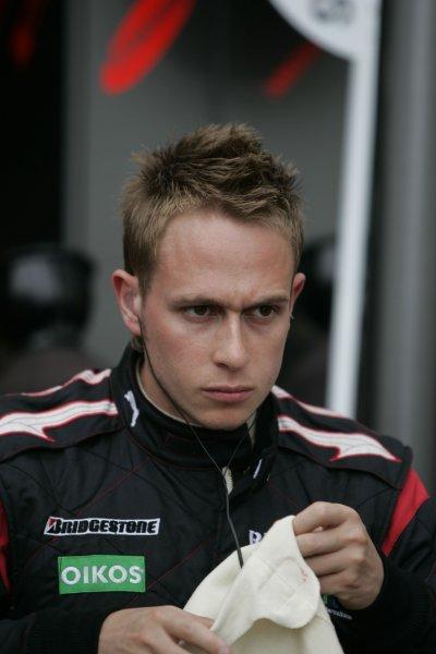 2008 GP2 Series. Round 3. Saturday Race. Monte-Carlo, Monaco. 24th May 2008.Adam Carroll (ESP, Fisichella Motor Sport International). Portrait.  World Copyright: Alastair Staley/GP2 Series Media Service.ref:__MG_1572 jpg