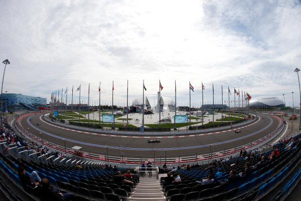 2015 GP3 Series Round 7. Sochi Autodrom, Sochi, Russia. Sunday 11 October 2015. Michele Beretta (ITA, Trident)  World Copyright: Zak Mauger/LAT Photographic ref: Digital Image _L0U9265
