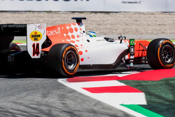 2017 FIA Formula 2 Round 2. Circuit de Catalunya, Barcelona, Spain. Friday 12 May 2017. Sergio Sette Camara (BRA, MP Motorsport)  Photo: Zak Mauger/FIA Formula 2. ref: Digital Image _56I7495