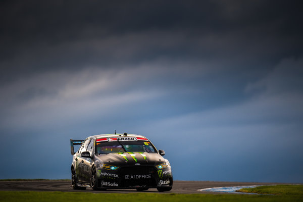 2017 Supercars Championship Round 3.  Phillip Island 500, Phillip Island, Victoria, Australia. Friday 21st April to Sunday 23rd April 2017. Cameron Waters drives the #6 Monster Energy Ford Falcon FGX. World Copyright: Daniel Kalisz/LAT Images Ref: Digital Image 210417_VASCR3_DKIMG_1764.JPG