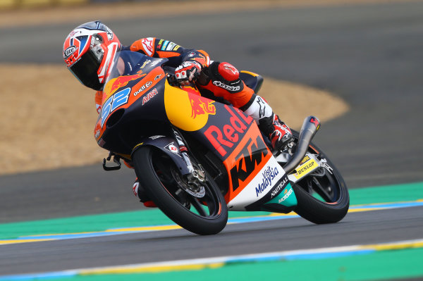 2017 Moto3 Championship - Round 5 Le Mans, France Saturday 20 May 2017 Danny Kent, Red Bull KTM Ajo World Copyright: Gold & Goose Photography/LAT Images ref: Digital Image 671093