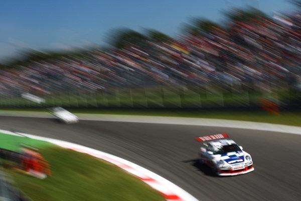 Robert Lukas (POL) Verva Racing Team. Porsche Supercup, Rd 9, Monza, Italy, 10-12 September 2010.