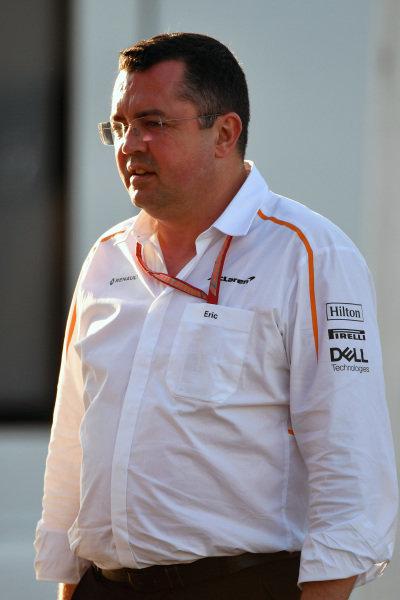 Eric Boullier (FRA) McLaren Racing Director