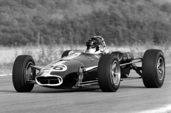 1966 French Grand Prix.Reims, France. 3 July 1966.Dan Gurney, Eagle AAR101-Climax, 5th position, action.World Copyright: LAT Photographic