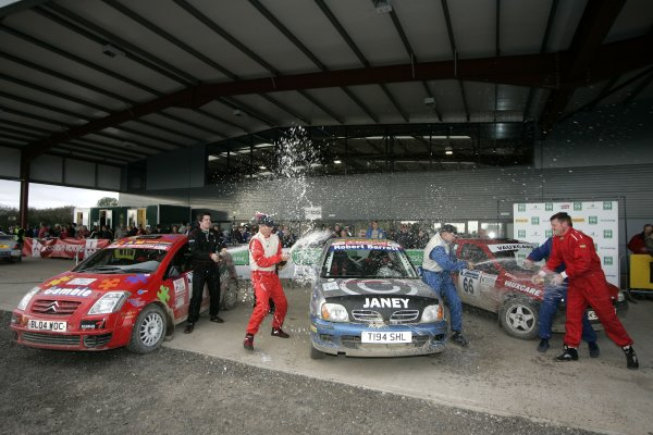 2006 British Rally ChampionshipTrackrod Rally, Yorkshire.7th October 2006All Stars Rally PodiumWorld Copyright - Ebrey/LAT Photographic