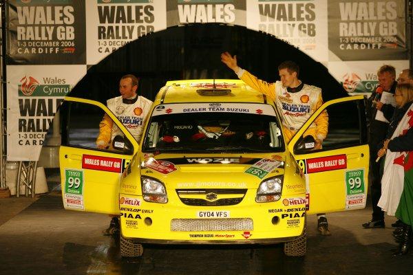 2006 British Rally Championship.Wales Rally GB. 1st-3rd December 2006.James Wozencroft. World Copyright: Ebrey/LAT Photographic.