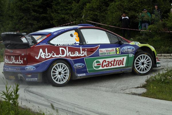 Round 07Rally Bulgaria 8-11 July  2010Mikko Hirvonen, Ford WRC, ActionWorldwide Copyright: McKlein/LAT