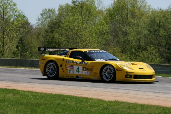 Oliver Gavin (GBR) Corvette Racing Chevrolet Corvette C6.R.American Le Mans Series, Rd2, Road Atlanta, USA, 17 April 2005.DIGITAL IMAGE