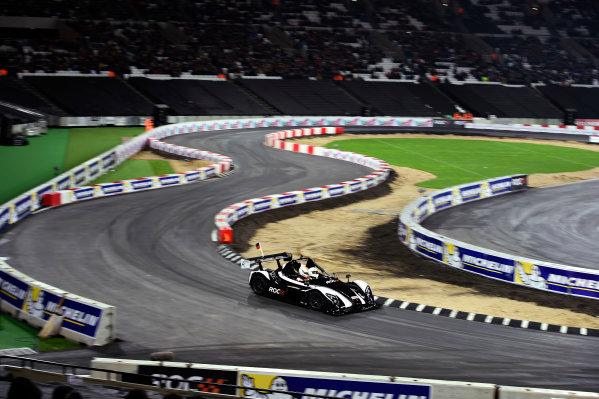 2015 Race Of Champions Olympic Stadium, London, UK Saturday 21 November 2015 Sebastian Vettel (GER) in the Radical SR3 RSX Copyright Free FOR EDITORIAL USE ONLY. Mandatory Credit: 'IMP'