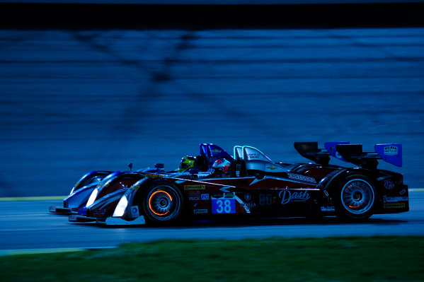 6-7 June, 2014, Kansas City, Kansas USA 38, Chevrolet, ORECA FLM09, PC, David Ostella and 09, Chevrolet, ORECA FLM09, PC, Duncan Ende, Bruno Junqueira ?2014, F. Peirce Williams LAT Photo USA