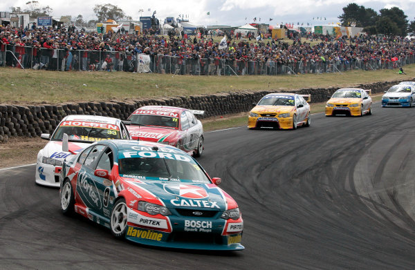 2004 Australian V8 SupercarsSymmons Plain Raceway, Tasmania. November 14th.V8 Supercar driver Russell Ingall took his first round win for the year at Round 12. World Copyright: Mark Horsburgh/LAT Photographicref: Digital Image Only