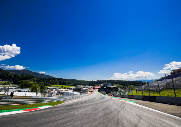 2017 GP3 Series Round 2.  Red Bull Ring, Spielberg, Austria. Thursday 6 July 2017. A view of the track. Photo: Zak Mauger/GP3 Series Media Service. ref: Digital Image _56I0017