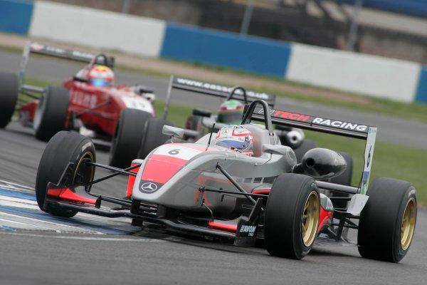 2007 British Formula Three Championship,Donington Park 21st-22nd April 2007,Walter Grubmuller (AUT) HiTech Racing Dallara MercedesWorld copyright: Ebrey/LAT Photographic.