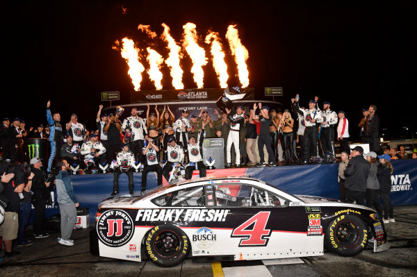 Monster Energy NASCAR Cup Series Folds of Honor Quik Trip 500 Atlanta Motor Speedway, Hampton, GA USA Sunday 25 February 2018 Kevin Harvick, Stewart-Haas Racing, Jimmy John's Ford Fusion wins World Copyright: Rusty Jarrett NKP / LAT Images