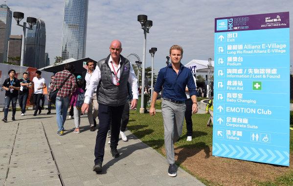 2017/2018 FIA Formula E Championship. Round 1 - Hong Kong, China. Saturday 02 December 2017. Nico Rosberg Photo: Sam Bagnall/LAT/Formula E ref: Digital Image SB1_6234