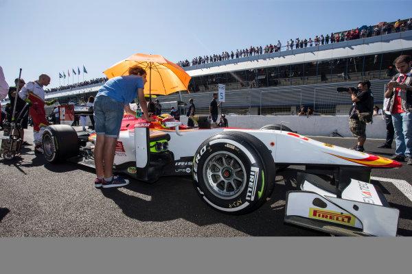 2017 FIA Formula 2 Round 10. Circuito de Jerez, Jerez, Spain. Sunday 8 October 2017. Alex Palou (JPN, Campos Racing).  Photo: Andrew Ferraro/FIA Formula 2. ref: Digital Image _FER3213
