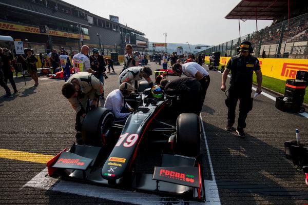 2017 FIA Formula 2 Round 8. Spa-Francorchamps, Spa, Belgium. Sunday 27 August 2017. Roberto Merhi (ESP, Rapax).  Photo: Zak Mauger/FIA Formula 2. ref: Digital Image _54I2886