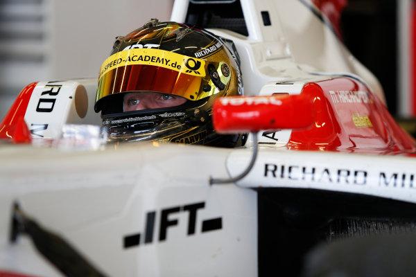 2014 GP3 Series Test 2. Jerez, Spain  Friday 11 April 2014. Marvin Kirchhofer (GER, ART Grand Prix)  Photo: Sam Bloxham/GP3 Series Media Service. ref: Digital Image _SBL1625