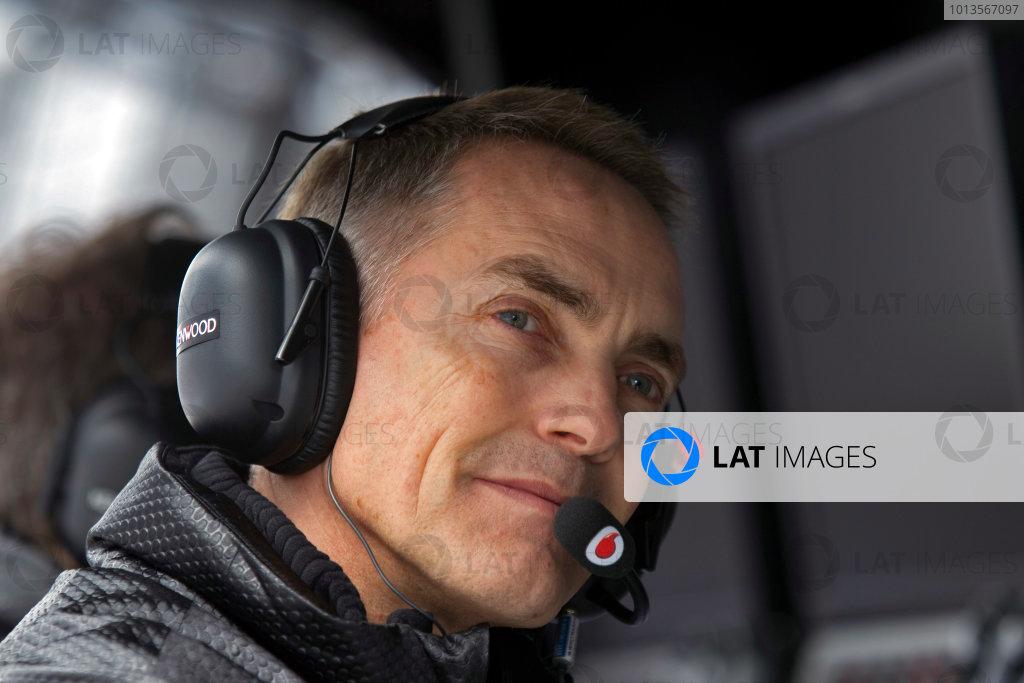 Albert Park, Melbourne, Australia25th March 2011.Martin Whitmarsh, Team Principal, McLaren. Portrait. World Copyright: Charles Coates/LAT Photographicref: Digital Image