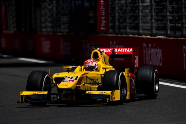 2017 FIA Formula 2 Round 4. Baku City Circuit, Baku, Azerbaijan. Friday 23 June 2017. Norman Nato (FRA, Pertamina Arden)  Photo: Zak Mauger/FIA Formula 2. ref: Digital Image _54I9888