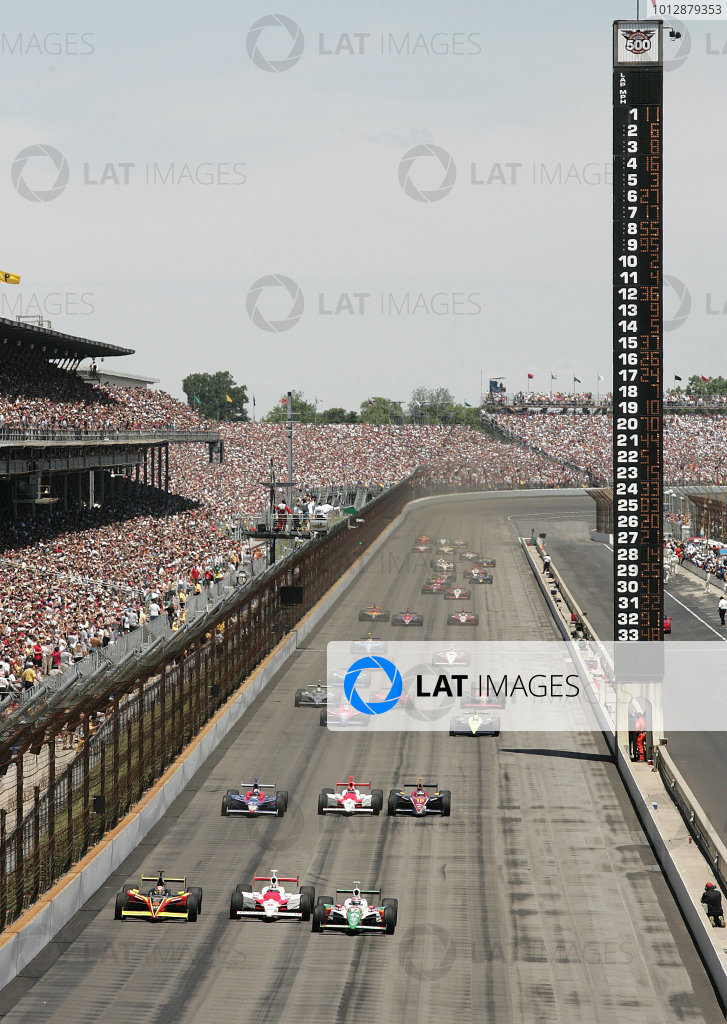 2005 Indy 500 Race Priority