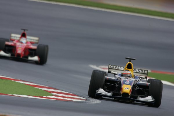 2005 GP2 Series - TurkeyIstanbul Park, IstanbulSunday Race 2Scott Speed (USA, ISport). Race Action. Copyright: GP2 Series Media Service ref: Digital Image Only