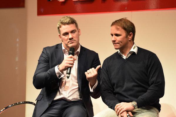 Petter Solberg (NOR). Autosport International Show, NEC, Birmingham, England, 8 January 2015.