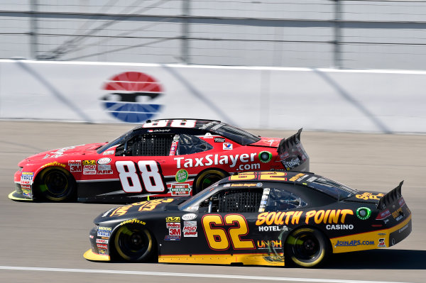 6-7 March 2015, Las Vegas, Nevada USA Brendan Gaughan and Dale Earnhardt Jr ? 2015, Nigel Kinrade LAT Photo USA