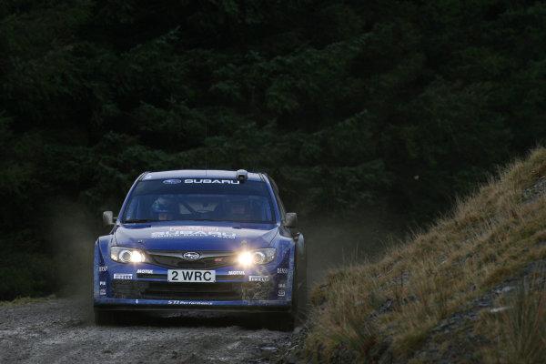 Round 15, Wales Rally GB, 4th-7th December 2008Petter Solberg, Subaru, ActionWorldwide Copyright: McKlein/LAT