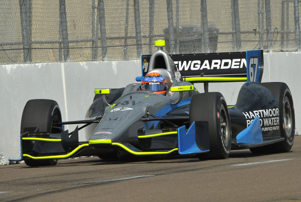 22-24 March, 2013, St Petersburg, Florida USA.#67 Josef Newgarden Sarah Fisher Hartman Racing Honda ©2013, Dan R.  LAT Photo USA
