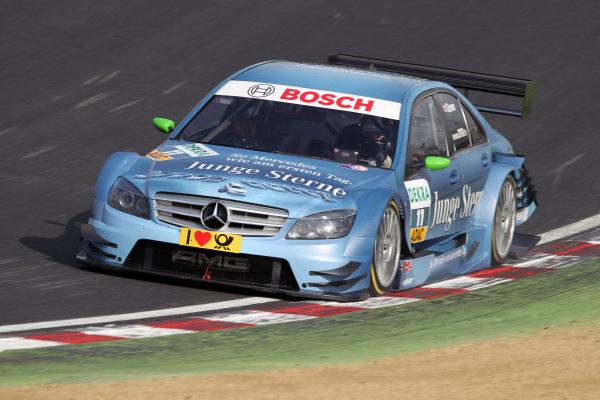 Jamie Green (GBR), Junge Sterne AMG Mercedes, Junge Sterne AMG Mercedes C-Klasse (2008).DTM, Rd7, Brands Hatch, England, 3-5 September 2010.World Copyright: LAT Photographicref: dne1004se214
