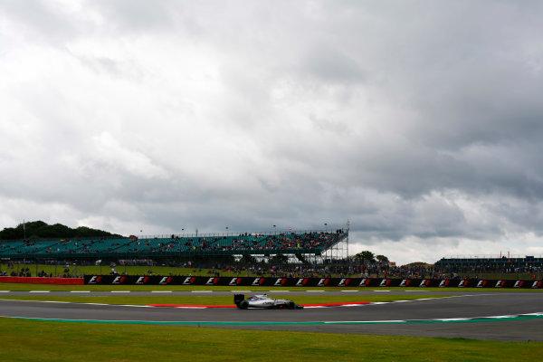 Silverstone, Northamptonshire, UK Friday 8 July 2016. Felipe Massa, Williams FW38 Mercedes. World Copyright: Hone/LAT Photographic ref: Digital Image _ONY7217