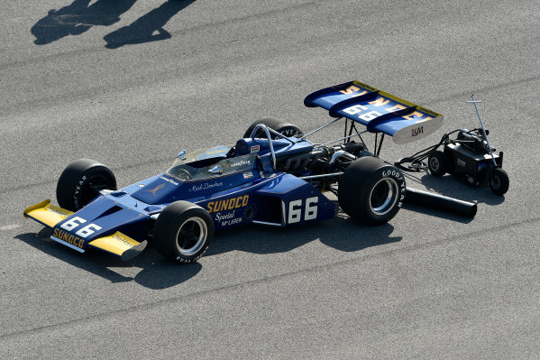 29 May, 2016, Indianapolis, Indiana, USA 1972 McLaren M16B, Penske, driven to the 1972 Indy 500 win by Mark Donohue ?2016, Scott R LePage  LAT Photo USA