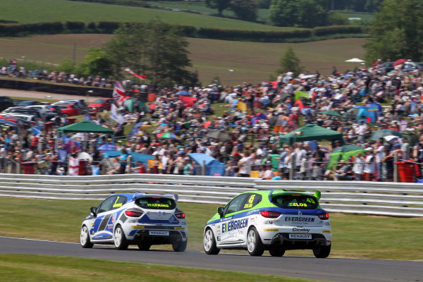 2016 Renault Clio Cup.  Oulton Park, Cheshire. 4th-5th June 2016, Sam Watkins (GBR) 20Ten Racing Renault Clio Cup  World copyright. Jakob Ebrey/LAT Photographic