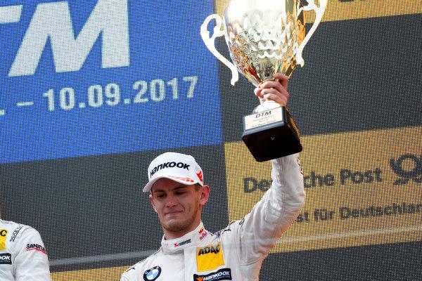 2017 DTM Round 7  Nürburgring, Germany  Sunday 10 September 2017. Podium: third place Marco Wittmann, BMW Team RMG, BMW M4 DTM  World Copyright: Alexander Trienitz/LAT Images ref: Digital Image 2017-DTM-Nrbg-AT2-4682
