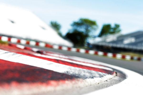 Circuit Gilles Villeneuve, Montreal, Canada. Thursday 4 June 2015. Kerbing. World Copyright: Alastair Staley/LAT Photographic. ref: Digital Image _79P8369