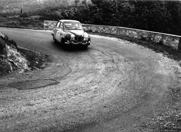 1961 Acropolis Rally.