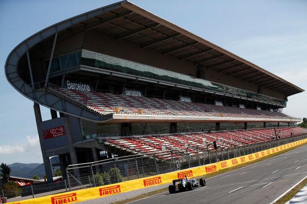Circuit de Catalunya, Barcelona, Spain. Wednesday 14 May 2014. Daniel Juncadella, Force India VJM07 Mercedes.  World Copyright: Sam Bloxham/LAT Photographic. ref: Digital Image _SBL0481